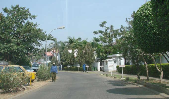 asokoro residential street