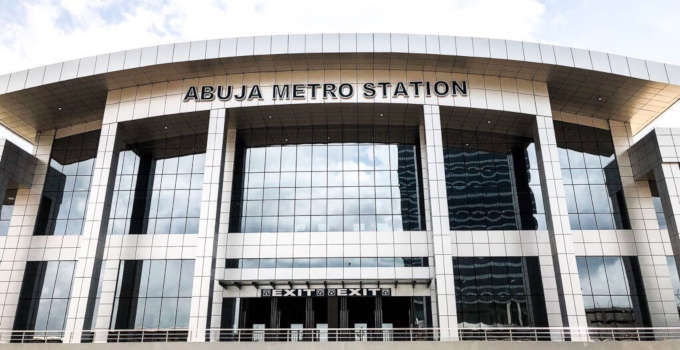 abuja metro station