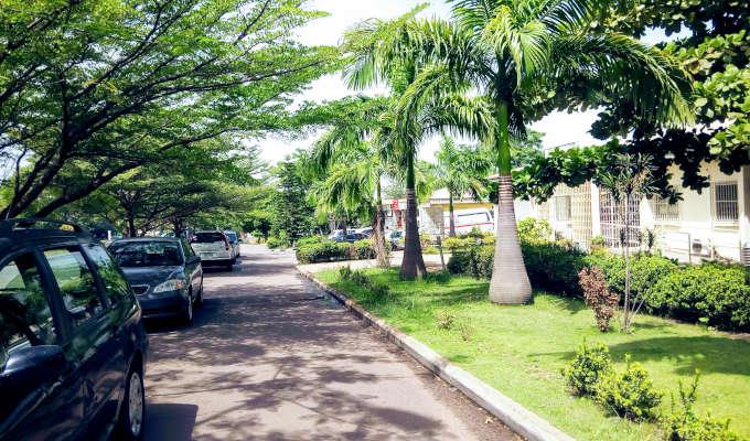games village kaura residential street