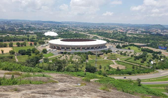 kukwaba abuja stadium view