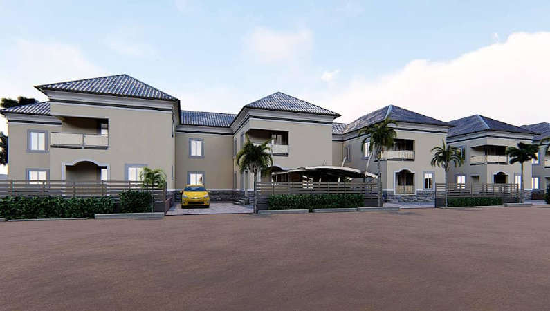 lugbe terraced house 4975