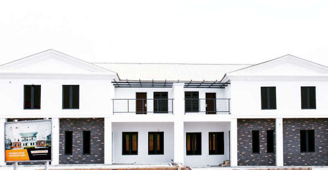 semi detached house nigeria