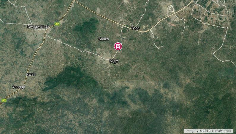 kuje land map