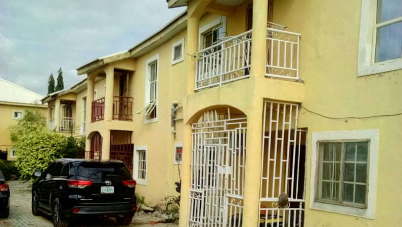 lugbe terraced house 6297