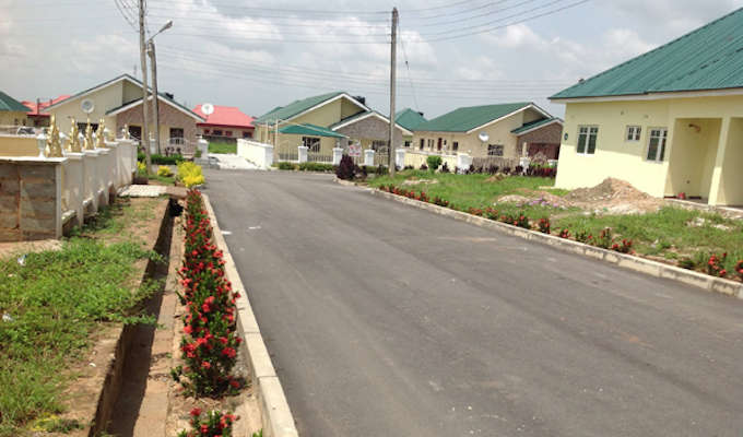 mbora residential housing estate